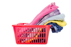 Heap of pure clothes Royalty Free Stock Photography