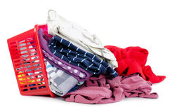 Heap of pure clothes Royalty Free Stock Photos