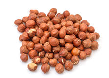 Heap Purified Cobnuts Stock Photography