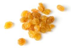 Heap of raisin isolated on white Royalty Free Stock Photo