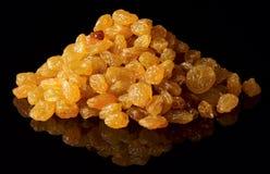 Heap of raisin isolated on white Royalty Free Stock Image