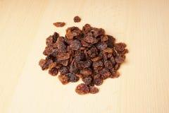 Heap of raisins or sultanas Stock Photos