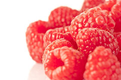 A heap of raspberries Royalty Free Stock Photos
