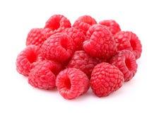 Heap of raspberry Stock Photo