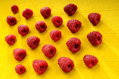 Heap of raspberry Stock Photography