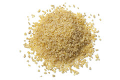 Heap of raw Bulgur Stock Photography
