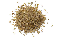 Heap of raw Freekeh Royalty Free Stock Photos