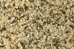 Heap of raw hemp seeds royalty free stock image