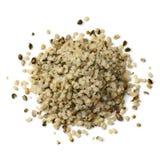 Heap of raw hemp seeds stock photos