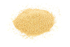 Heap of raw, uncooked amaranth seeds Stock Photo