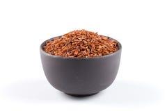 Heap of red rice Stock Photos