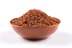 Heap of red rice Royalty Free Stock Image