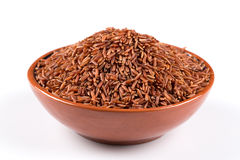 Heap of red rice Royalty Free Stock Photo