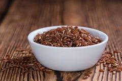 Heap of red Rice (close-up shot) Stock Photos