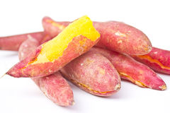 Heap Of Red Yams. Royalty Free Stock Images