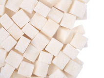 Heap of refined sugar Royalty Free Stock Images