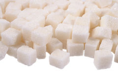 Heap of refined sugar Royalty Free Stock Photography