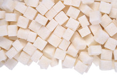 Heap of refined sugar Royalty Free Stock Photos