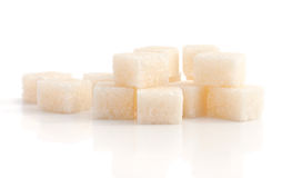 The heap of a refined sugar Royalty Free Stock Photo