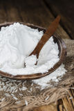 Heap of Rice Flour Stock Images