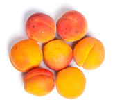 Heap of ripe apricots Royalty Free Stock Images