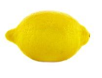 Heap of ripe fresh juicy lemon. Isolated over white background Stock Photo