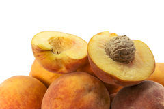 Heap of ripe peaches Royalty Free Stock Photography