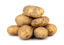 Heap of ripe potato Royalty Free Stock Photos
