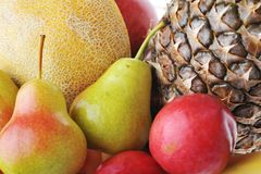 Heap of ripe tasty fruit Royalty Free Stock Photography