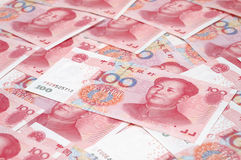 Heap RMB cash Stock Photography