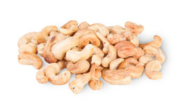 Heap Of Roasted Cashew Nuts Stock Photography