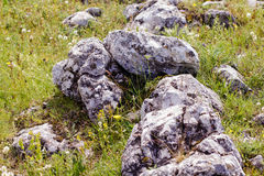 Heap of rocks Royalty Free Stock Images
