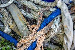 Heap of ropes Royalty Free Stock Photos