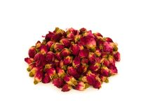 Heap of rosebuds for rose tea  Stock Photography