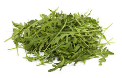 Heap of rucola leafs Stock Photo