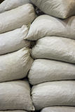 Heap of sacks Stock Images