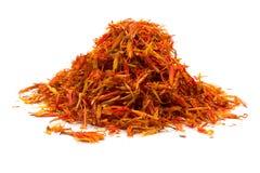Heap saffron Stock Images