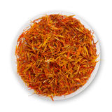 Heap saffron Royalty Free Stock Photo