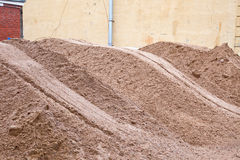 Heap of sand Royalty Free Stock Image