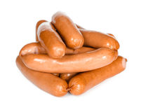 Heap of sausages Royalty Free Stock Images