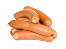 Heap of sausages Stock Photo