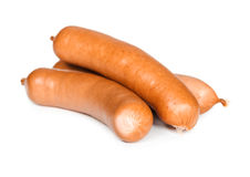 Heap of sausages Royalty Free Stock Image