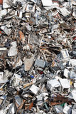 Heap of scrap metal Royalty Free Stock Photo