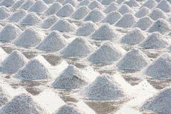 Heap of sea salt Stock Photography