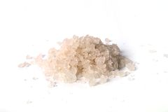 Heap of sea salt Royalty Free Stock Images
