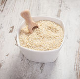 Heap of sesame containing calcium and dietary fiber, healthy nutrition concept Royalty Free Stock Photography