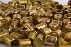 Heap of shotgun primers Royalty Free Stock Photos