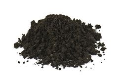 Heap of soil Royalty Free Stock Photos