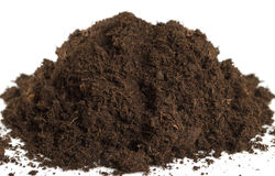 Heap of soil. Royalty Free Stock Images