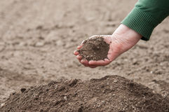 Heap of soil Royalty Free Stock Photo